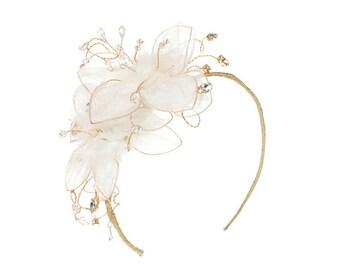 Wedding Sideband, Bridal Headdresses, Tiaras and Crowns, Wedding Headdress, Bridesmaid Headdress, Brides Headdress