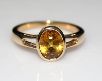 Resultado de imagen para yellow sapphire rings