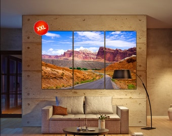 Capitol Reef National Park  canvas Capitol Reef wall decoration Capitol Reef canvas art Capitol Reef large canvas