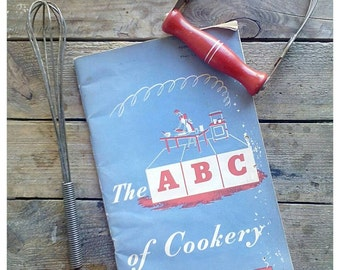 WW2 British Ministry of Food book ' The ABC of Cookery '