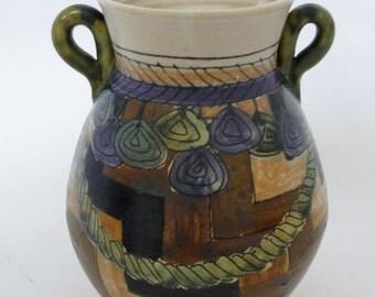 Artisan Ceramic Vase