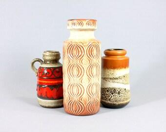 Vintage Scheurich Amsterdam Vase - 285-30 Mid Century Vase WGP 1970s