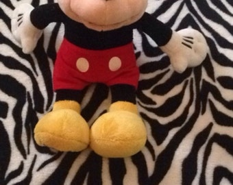 Vintage stuffed Mickey Mouse in great condition