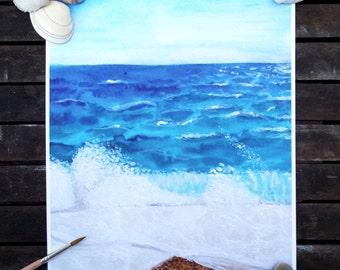 Choppy Sea print