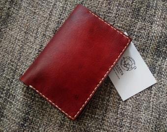 Passport wallet, Travel wallet, 'Mahogany'