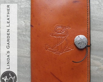 "Handmade Leather 2015 Kindle Fire HD 8"" Cover"