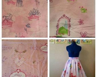 Custom Circle Skirt - Princess Prints