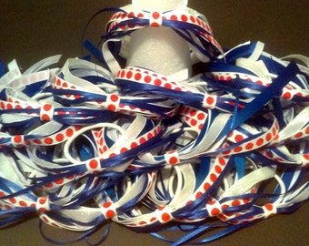 Team Ponytail Holder Ribbons, Soccer, Basketball, Volleyball, Softball, Quantity discounts
