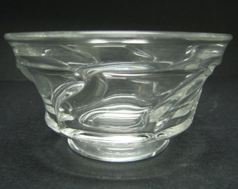 "Fostoria  Jamestown Crystal 4 1/2"" bowl 1958-82 Dessert bowl"