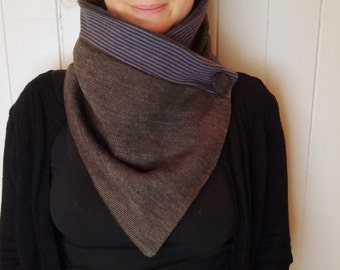 Women's scarves, upcycle clothing,  neck warmer, snood, scarf, winter cowl, bandana