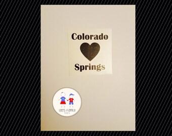 Colorado Springs Decal