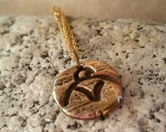 Charm Bracelet Pendant,  Eagle Pendant, Necklace Pendant, Bronze