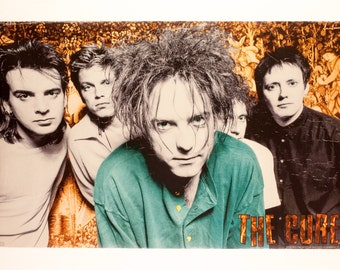 THE CURE Robert Smith Original 1996 Poster