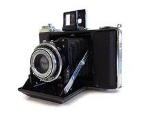 Vintage Bellows Camera - Zeiss Ikon Ikonta 521/16 - Zeiss Ikon Ikonta B