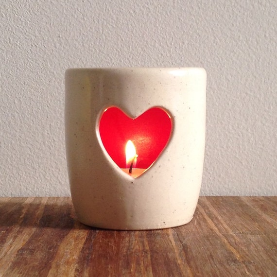 Valentines Day Heart Candle Holders Page Two
