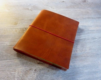 New Leather Portfolio Notebook