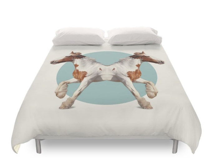 Horses Duvet Cover - Double Animals