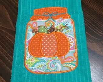 Fall dish towel