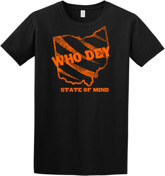 Cincinnati bengals who dey t shirt by wagewarapparelllc on for Custom t shirts cincinnati