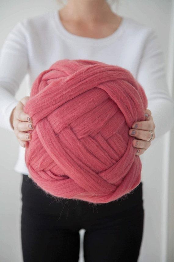 riesige wollgarn 23 m knitting merino wolle chunky garn. Black Bedroom Furniture Sets. Home Design Ideas