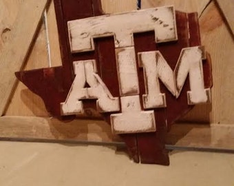 State of Texas A&M Sign
