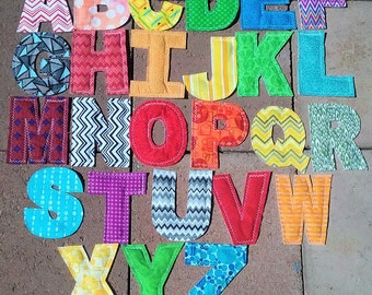 Magnetic Fabric Alphabet Set
