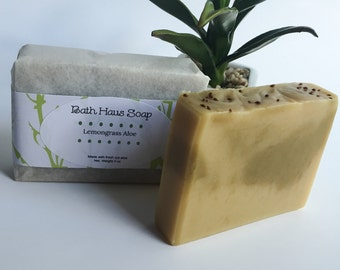 Lemongrass Aloe Soap