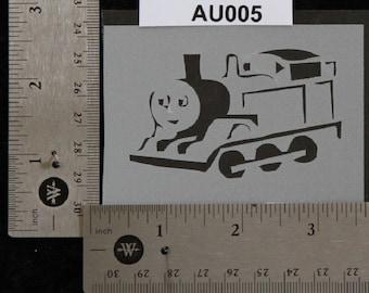 "Train Stencil -  3-1/2"" x 2-3/4"", 7 mil - AU005"
