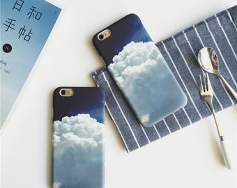 Blue Sky Above Clouds Apple iphone 7 case iphone7 plus case 5S 6 6S 6 Plus 6S Plus case DREAMING Cool