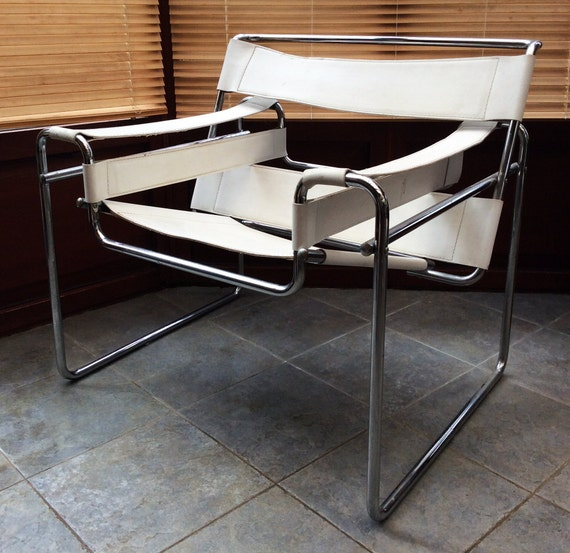 vintage marcel breuer wassily chair 1980s pair available. Black Bedroom Furniture Sets. Home Design Ideas
