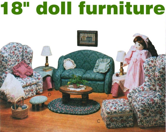 18 Doll Furniture Pattern American Girl Furniture Mccall