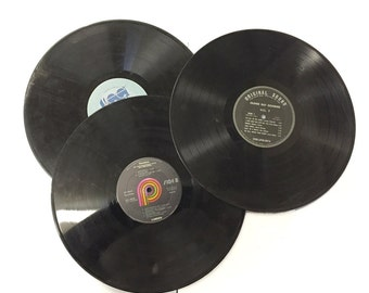 Recycled Vintage Records for Projects, Crafts