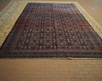 Large size Antique Persian Kerman Rug