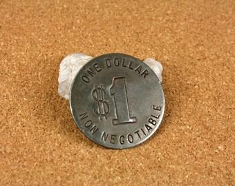 One Dollar Coin Etsy