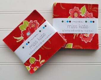 """Miss Kate Charm Pack 5"""" by Bonnie & Camille for Moda"""