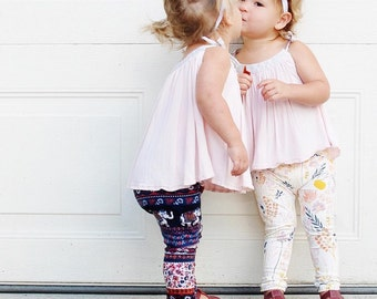 baby girl clothes - toddler girl clothes - baby girl leggings - toddler girl leggings - girl leggings - baby leggings - toddler leggings