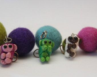 Monkeys/micro monkeys, Polymer clay Mother's Day