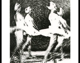 Ballerinas (1978)- darkroom silver print on fiber based paper 8x10 inches
