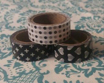 Set of 3 washi tape