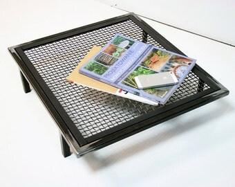Newspaper metal stand magazine rack industrial steel designed by Nortre