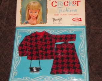 American Character Cricket Doll Mint on Card  #14108 Shutterbug Outfit