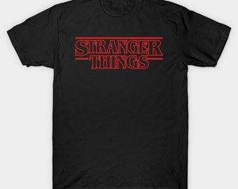 Stranger Things Shirt - Upside down - 011 - Stranger things TShirt - Hawkins Power - Will - The Upside down - Vinyl Shirt