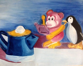 Toys on Canvas