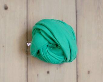 Turquoise Jersey Knit Wrap, Newborn Stretch Knit wrap, Fabric wrap, Newborn knit wrap,Stretch wrap,Jersey knit wrap,Newborn props,Photo Prop