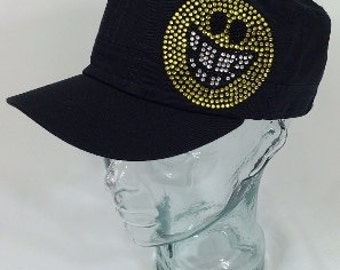 Happy face cadet  hat