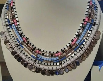 Gorgeous Multi-Strand Necklace
