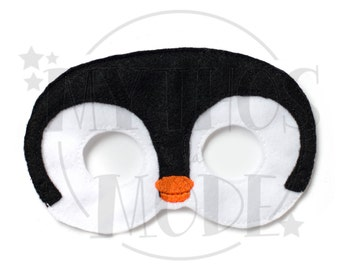 Penguin Felt Mask