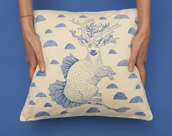 PROMO! Deer pillow cover