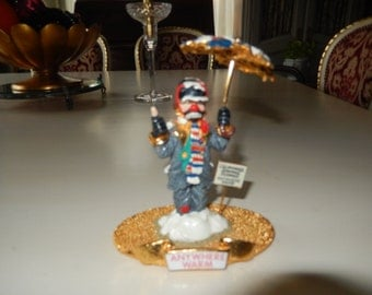 "CLOWN SCULPTURE TITLED ""Anywhere Warm"""
