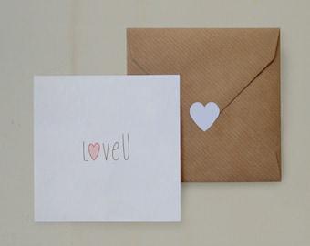 Loving Card LoveU